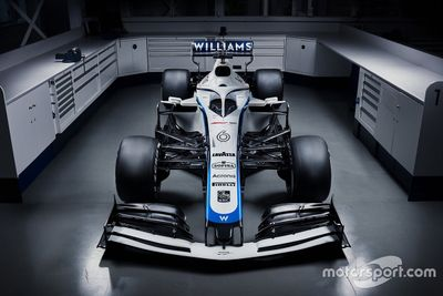 Williams livery unveil