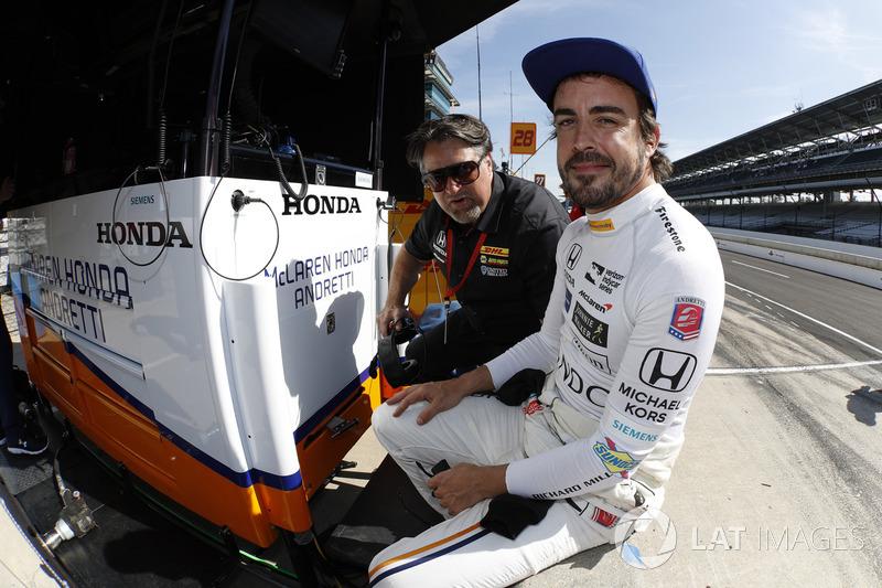 10. Fernando Alonso, Andretti Autosport Honda