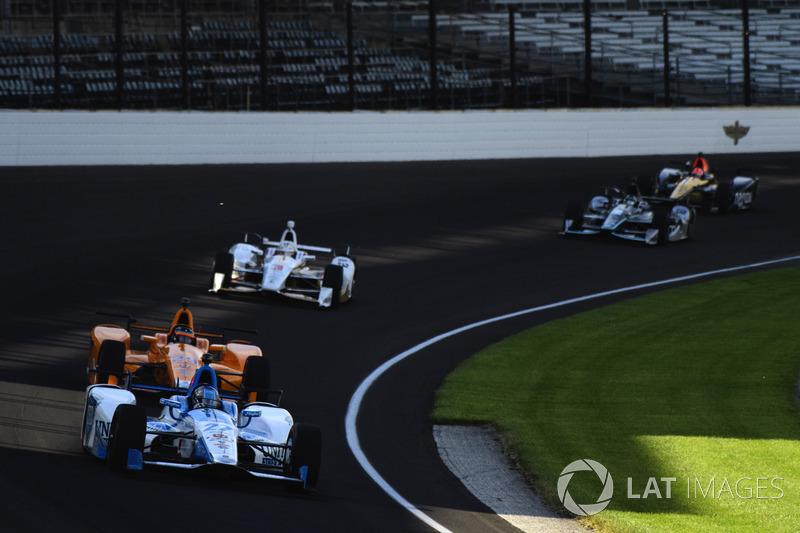 Marco Andretti, Andretti Autosport Honda, Fernando Alonso, Andretti Autosport Honda