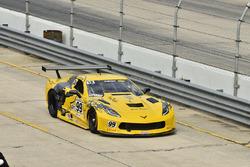 #99 TA Chevrolet Corvette, Lawrence Lepurage