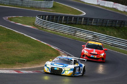 #5 Phoenix Racing, Audi R8 LMS: Mike Rockenfeller, Nicolay Møller Madsen, Dennis Busch