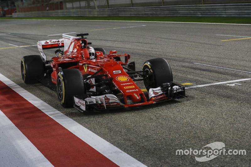 2017. Бахрейн. Себастьян Феттель, Ferrari SF70H
