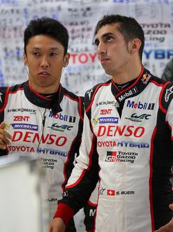 Казукі Накадзіма, Себастьян Буемі, Toyota Racing