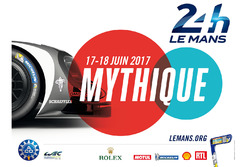 Poster for the 2017 24 Hours of Le Mans