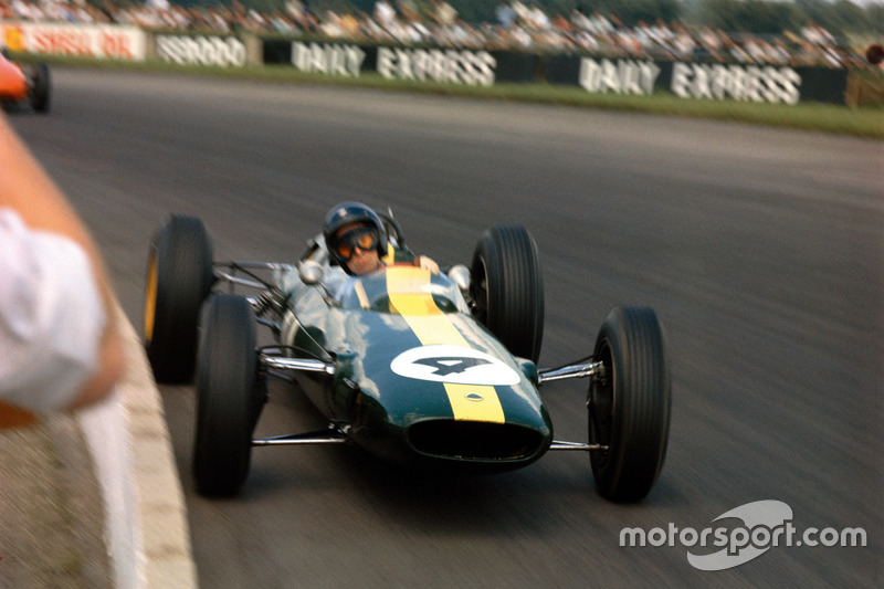 26º Jim Clark - 12 carreras - De Bélgica 1963 a Bélgica 1964 - Lotus