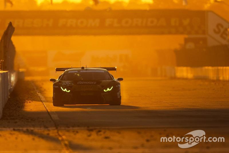 #46 EBIMOTORS, Lamborghini Huracan GT3: Emanuele Busnelli, Fabio Babini, Emmanuel Collard, Michele Beretta