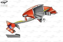 Ferrari F2001 (652) 2001 nose section