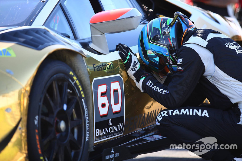 Dennis Lind, Raton Racing, 2016 Lamborghini Blancpain Super Trofeo World Champion PRO class