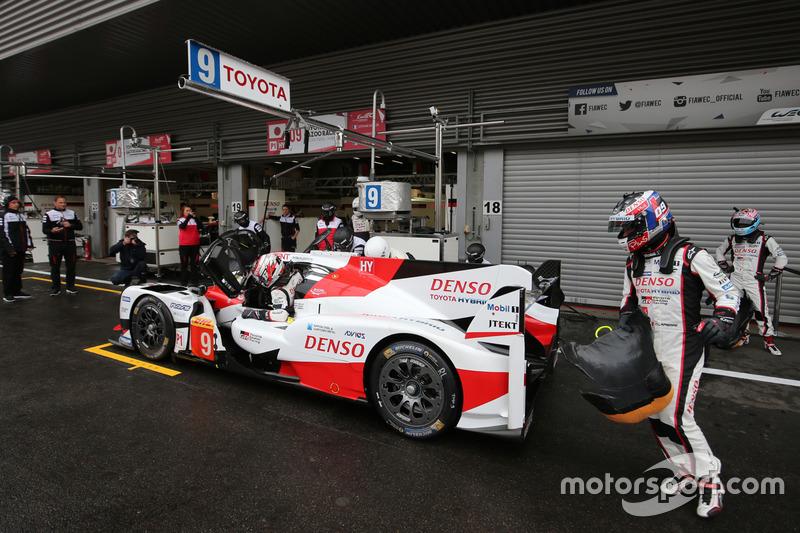 #9 Toyota Gazoo Racing Toyota TS050 Hybrid: Stéphane Sarrazin, Yuji Kunimoto, Nicolas Lapierre
