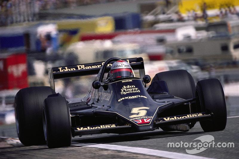 Mario Andretti en el nuevo Lotus 79