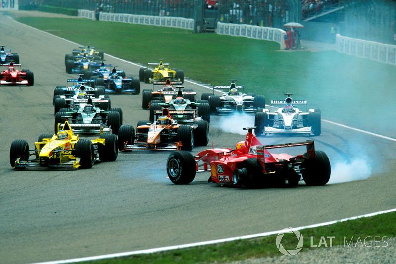 Accident de Michael Schumacher lors du GP d'Allemagne
