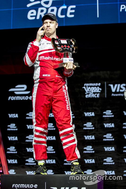 Olli Pahkala, Mahindra Racing