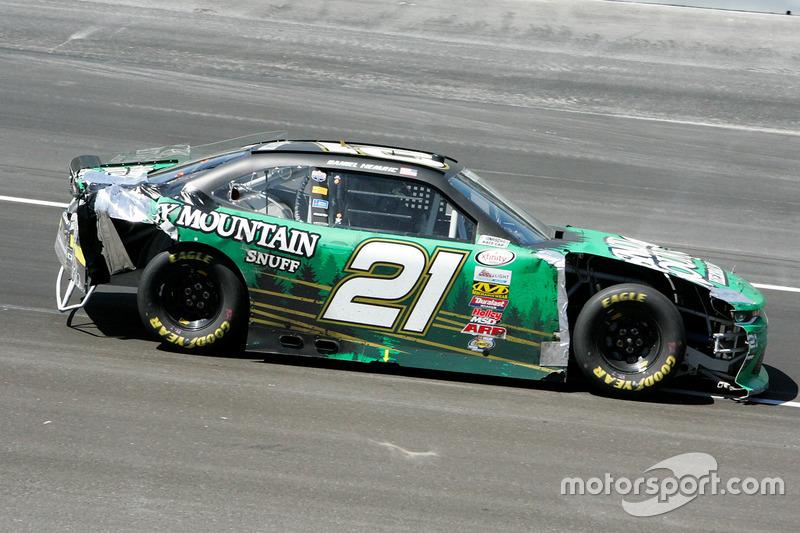 Daniel Hemric, Richard Childress Racing, Chevrolet, nach Crash