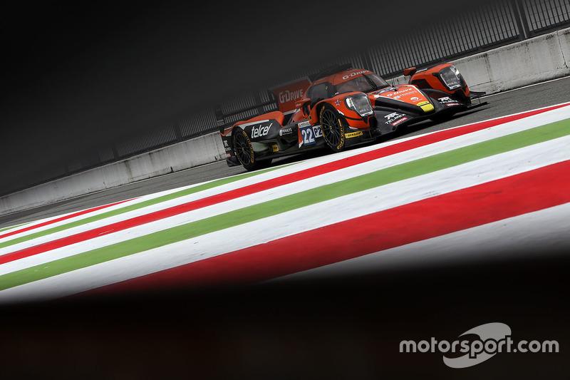 #22 G-Drive Racing, Oreca 07 - Gibson: Memo Rojas, Ryo Hirakawa, Leo Roussel