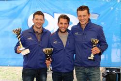 Marcel Muzzarelli, Thierry Kilchenmann, Roland Schmid, podio Gara 2