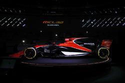 La presentación del McLaren MCL32