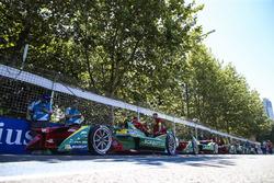 Die Fahrzeuge vom Team ABT Schaeffler Audi Sport