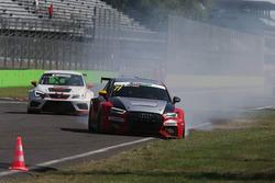 Problemi per Enrico Bettera, Pit Lane, Audi RS3 LMS-TCR