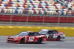 Ryan Blaney, Team Penske Ford Brad Keselowski, Team Penske Ford