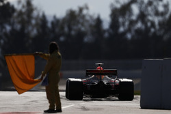 Daniel Ricciardo, Red Bull Racing RB13, leaves the pit lane