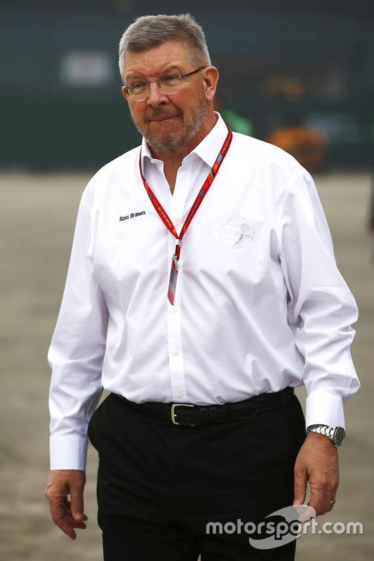 Ross Brawn, FOM Managing Director of Motorsports