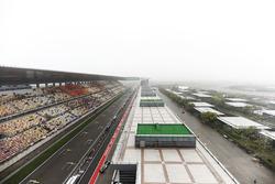 Una vista panorámica del circuito internacional de Shanghai