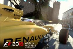 Kevin Magnussen, F1 2016 oyunu