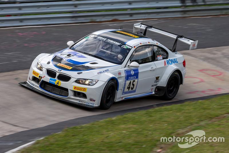 #45 TC-R & Vetter Motorsport,BMW M3 E92: Philipp Göschel, Dirk Heldmann, Rolf Scheibner, Frank Weishar