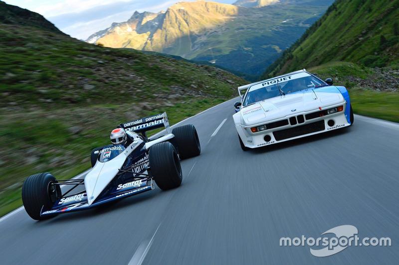 8. Нельсіньо Піке за кермом батьківського Brabham BMW F1