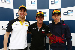 Race One Press Conference, Nicholas Latifi, DAMS, Norman Nato, Racing Engineering and Pierre Gasly, PREMA, Racing