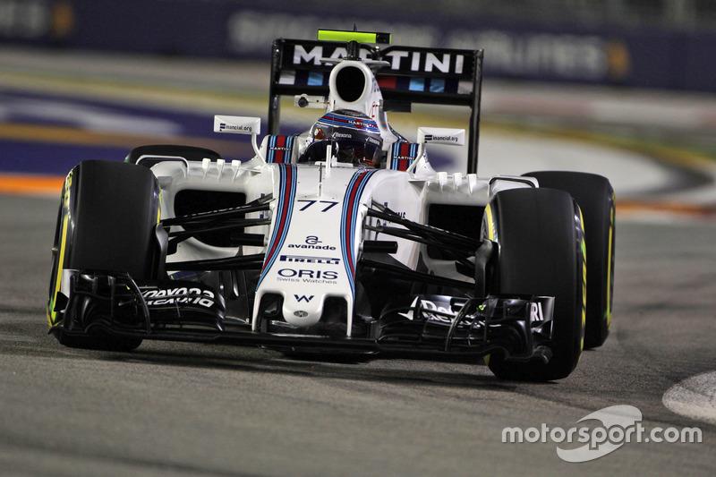 10º: Valtteri Bottas, Williams FW38