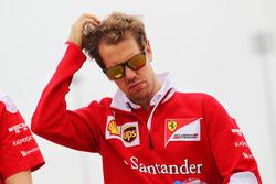 Себастьян Феттель, Ferrari изучает трассу