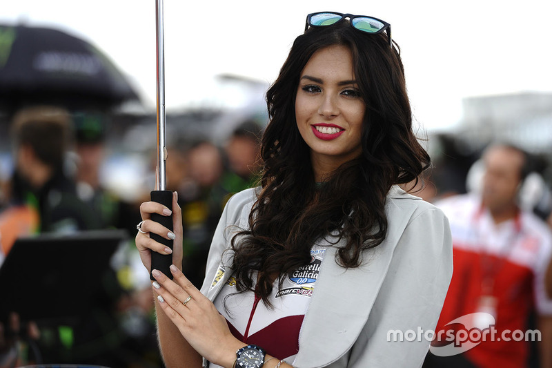 Lovely Marc VDS Racing girl