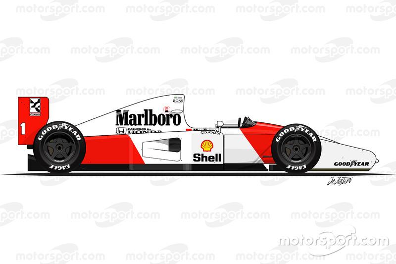1992: McLaren-Honda MP4/7A