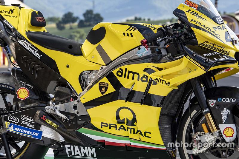 Ліврея Lamborghini команди Pramac Racing