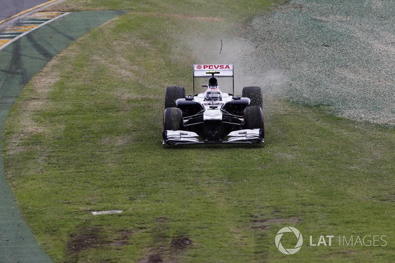 Valtteri Bottas - GP de Australia 2013 (14º)