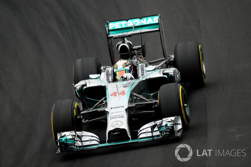 8. 2014 - Lewis Hamilton, Mercedes (76,8%)