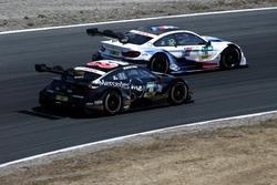 Edoardo Mortara, Mercedes-AMG Team HWA, Mercedes-AMG C63 DTM, Marco Wittmann, BMW Team RMG, BMW M4 DTM
