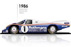1986 Porsche 962C