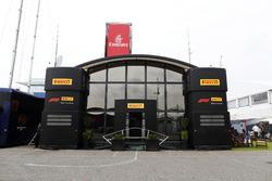The Pirelli hospitality unit