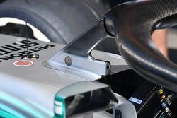 Halo de la Mercedes-AMG F1 W09