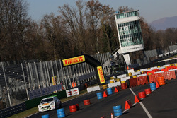 Action lors du Monza Rally Show