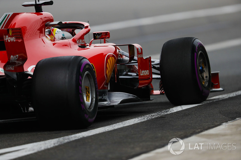 1: Sebastian Vettel, Ferrari SF71H, 1'31.095