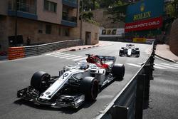Marcus Ericsson, Sauber C37, voor Charles Leclerc, Sauber C37