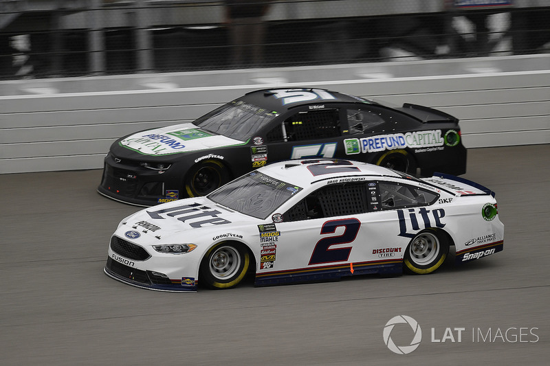 Brad Keselowski, Team Penske, Ford Fusion Miller Lite and TBA, Rick Ware Racing, Chevrolet Camaro