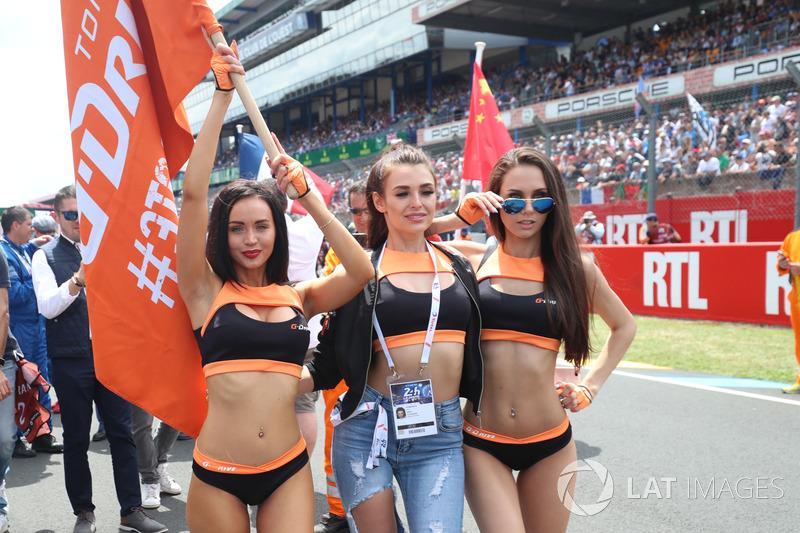 Девушки G-Drive Racing