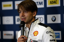Press Conference, Augusto Farfus, BMW Team RMG