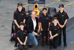 AGPC CEO Andrew Westacott met Grid Kids: Aiva, Brad, Lucas, Toby en Cadel