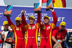 Podium:  #24 Racing Engineering Oreca 07 - Gibson: Norman Nato, Olivier Pla, Paul Petit