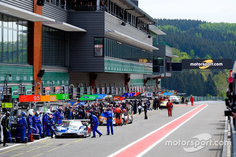 Motorsport.com, presene en el pitlane